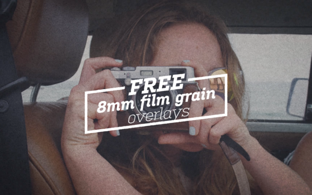 Film grain overlays still image